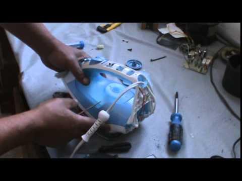 como consertar ferro eletrico