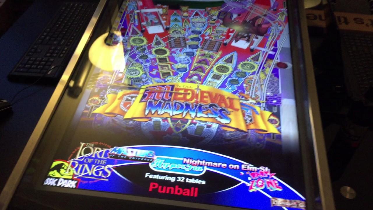 Punball [ Hyperspin/ Future Pinball Cabinet ] -2015- - YouTube