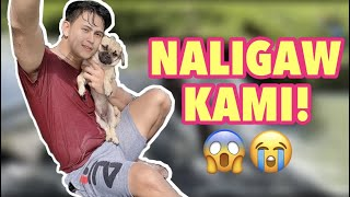 NALIGO KAMI NG FALLS AND NEW ROOM TOUR NI ATE | GLESTER CAPUNO