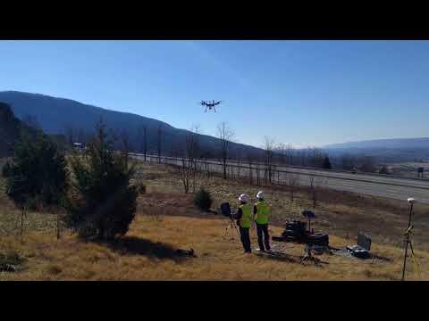 Landing - LiDAR Scanning with Unmanned Aerial System (UAS)