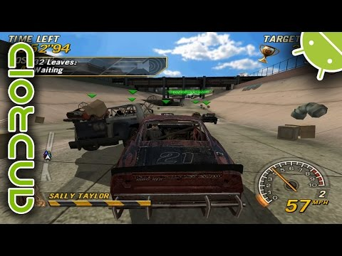 FlatOut: Head On | NVIDIA SHIELD Android TV | PPSSPP Emulator [1080p] | Sony PSP