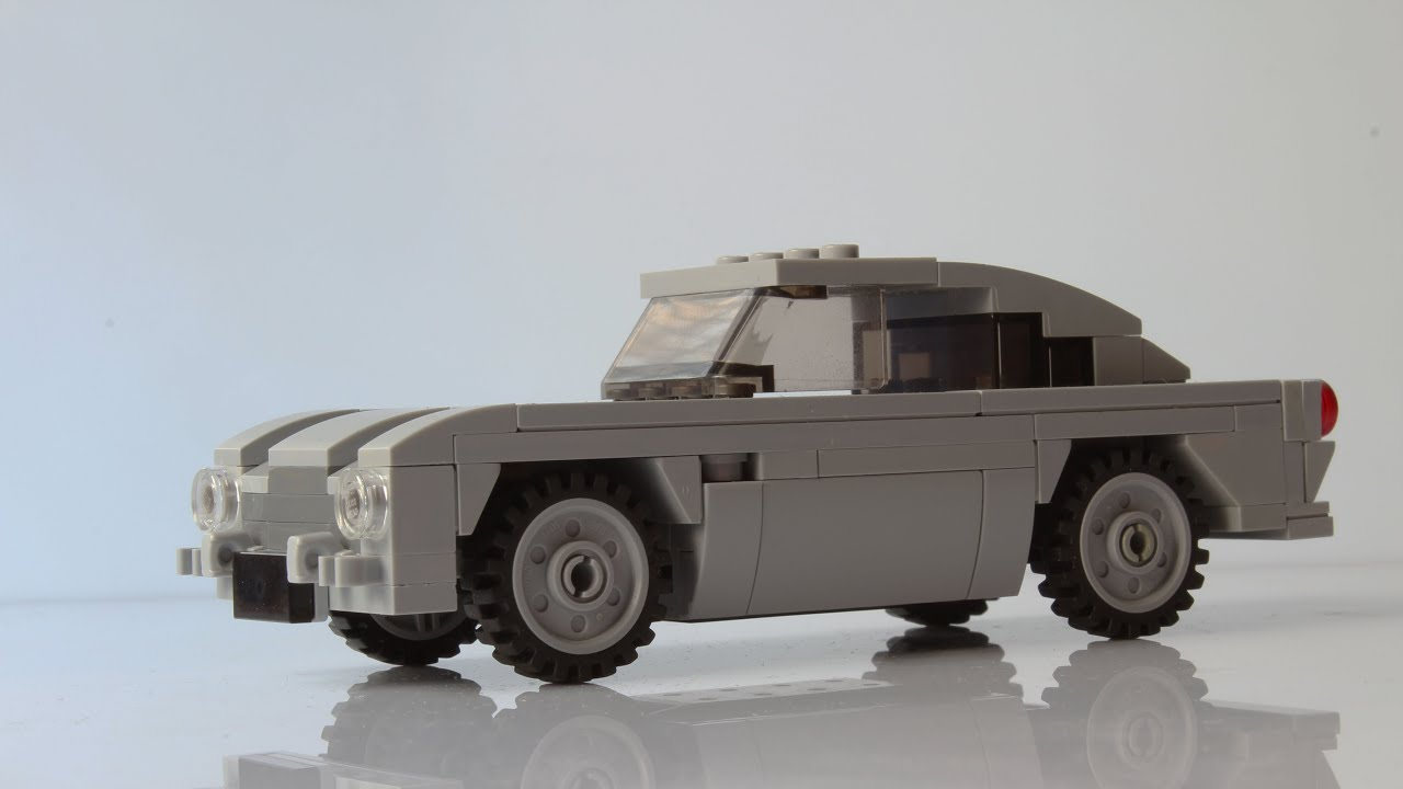 Building the James Bond's Aston Martin DB5 with Lego - YouTube