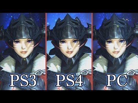 Final Fantasy 14 Online: A Realm Reborn - Graphics Comparison (PS3
