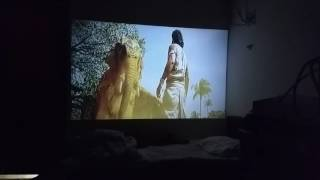 EGATE I9 Projector Picture Quality in dark