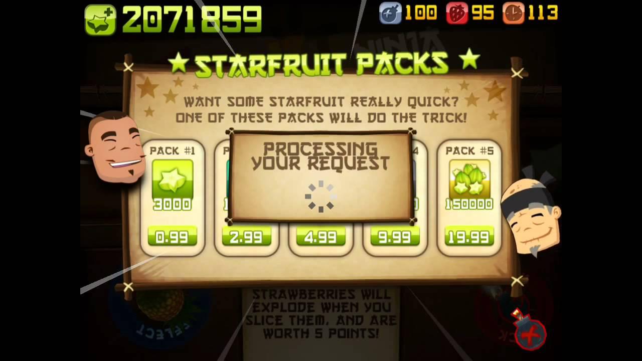 Fruit ninja free game - Unlimited Star Fruit In Fruit Ninja Free Hack