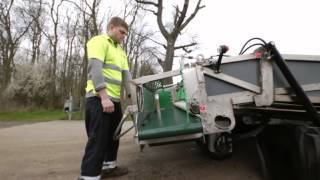 Compact Harvester - Born to thinning and catching out in small sheds