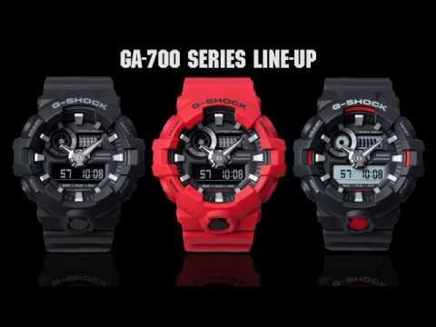 c79b5e2531145b Zegarek CASIO G-SHOCK GA-700 NOWOŚĆ 2017!!! - YouTube