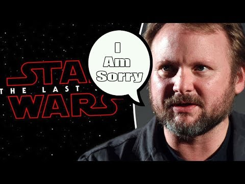 Rian Johnson Finally Apologizes for The Last Jedi?