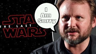 Rian Johnson Finally Apologizes For The Last Jedi?
