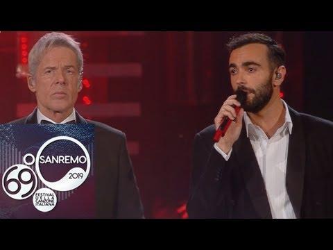 Sanremo 2019 - Marco Mengoni e Claudio Baglioni cantano 'Emozioni'