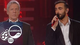 Sanremo 2019 - Marco Mengoni e Claudio Baglioni cantano