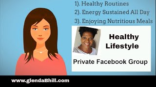 Healthy Lifestyle Private  Facebook Group