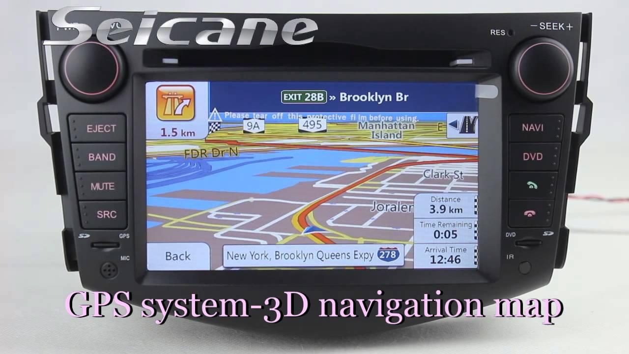 2006 2007 2011 2012 Toyota Rav4 Gps Navigation Audio