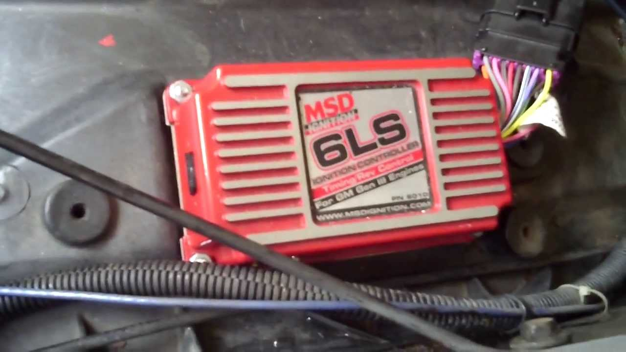 how to wire an ls1 engine using msd 6010