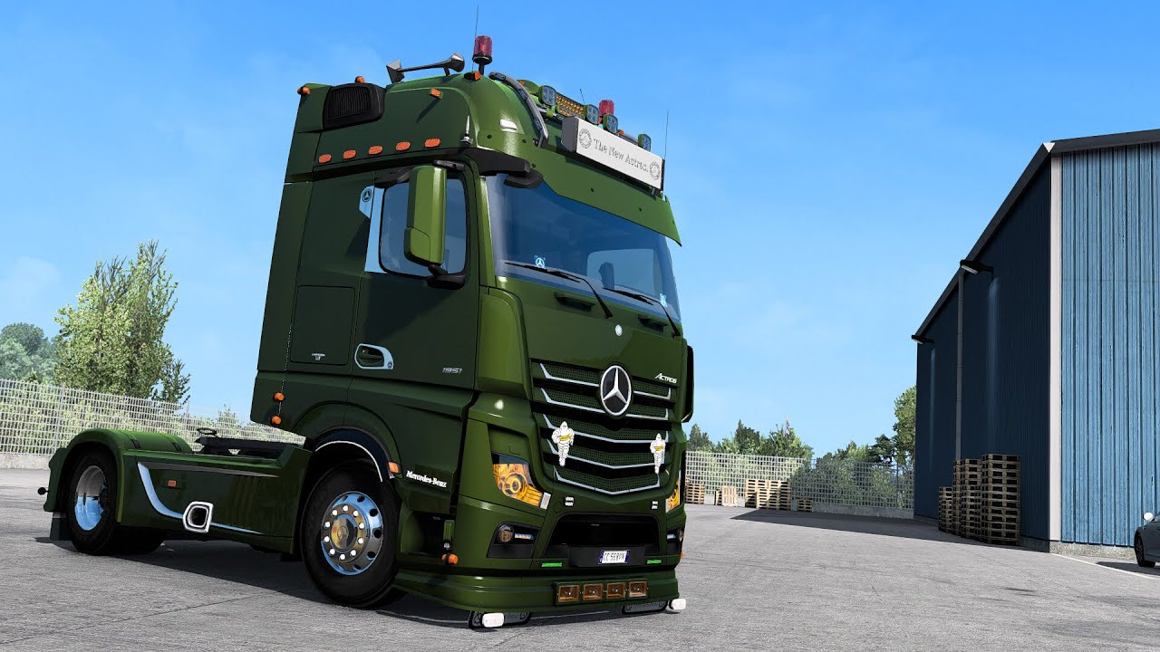 [ETS2 - ADDON]Mercedes-Benz New Actros GigaSpace Bottom Tuning Pack