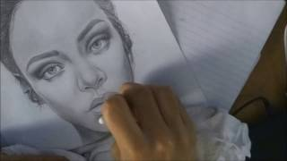 Rihanna Drawing