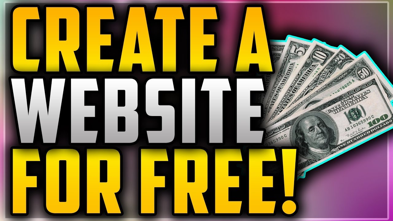 How To Create Your Own Professional Website For Free