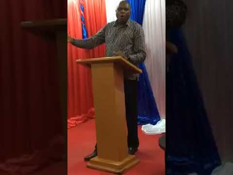 May 21st/18 1 king chpt 12 Bible study by Bishop George Oduor Owiti