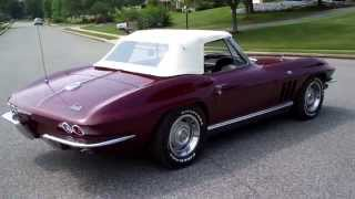 1966 Corvette Convertible 327/300hp Matching Numbers