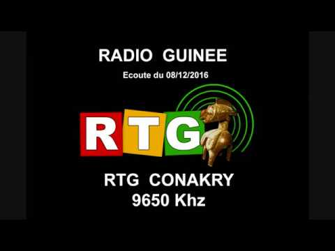 RTG Conakry - Radio Guinée - SDRplay