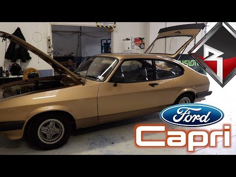 '82 Ford Capri Gets Some Sounds & Security