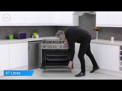 DeLonghi DSR906DF 90cm Dual Fuel Range Cooker Review