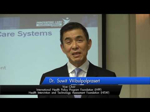 The Innovating Care Asia Pacific 2016 (ICAP) Dr.Suwit Wibulpolprasert