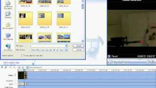 how to make a muzzle flash in windows movie maker