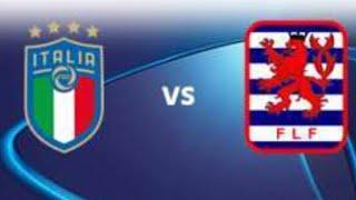 Italia U21 Lussemburgo U21 5-0 in altra vittoria per L' Italia di Paolo Nicolato amichevole