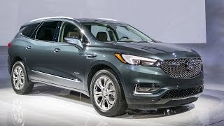2018 Buick Enclave Avenir Full Reveal @ NYIAS