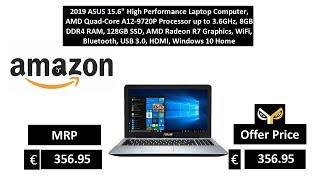 2019 ASUS 15.6 High Performance Laptop Computer, AMD Quad-Core