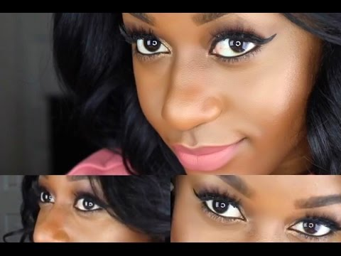 simple everyday makeup  full face quick makeup look