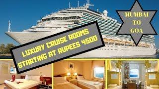 Mumbai to Goa Cruise - Angriya Cruise Room tariffs