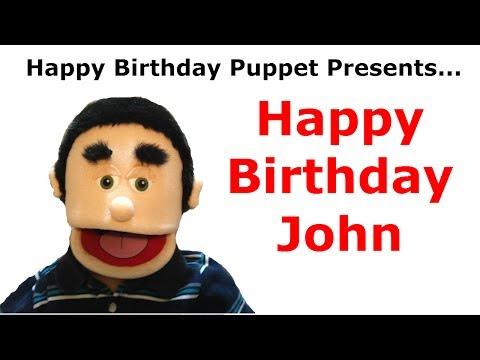 Funny Happy Birthday John - Birthday Song