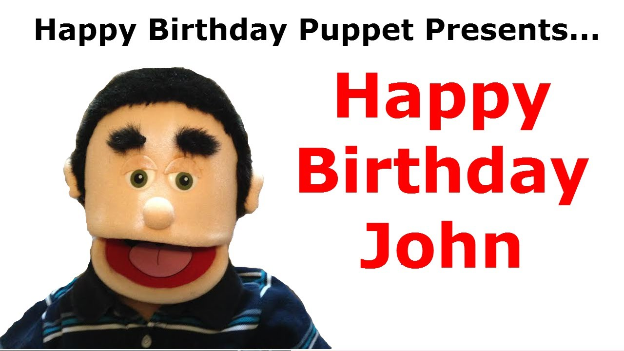 Funny happy birthday john birthday song youtube kristyandbryce Images