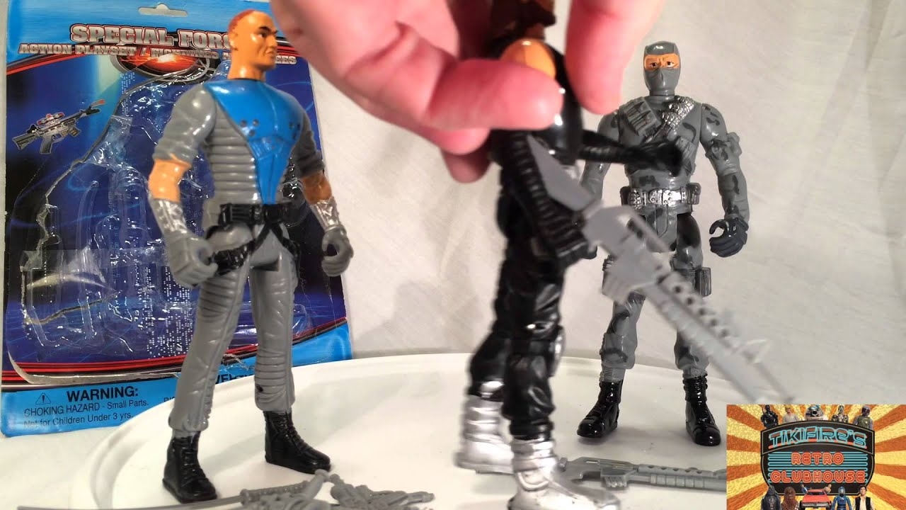 5 Dollar Toys : Dollar tree special force military action figures i
