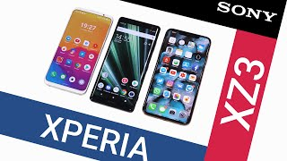 Распаковка Sony Xperia XZ3 и тест камеры