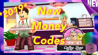 ROBLOX WORK AT COFFEE SHOP CODES ($1MILL)