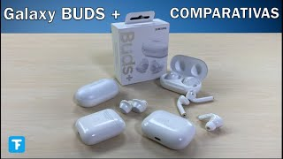 NUEVOS Galaxy BUDS + Comparativa Airpods 2, Buds 1 - UNBOXING