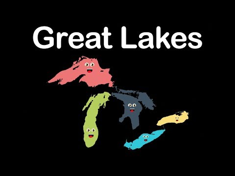 Great Lakes/Great Lakes Geography/Great Lakes North America