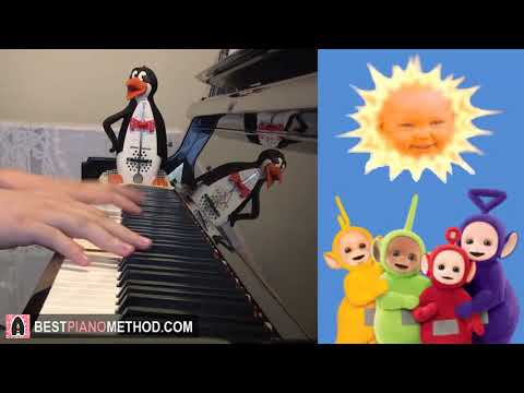 Teletubbies - Theme Song (Piano Cover by Amosdoll)