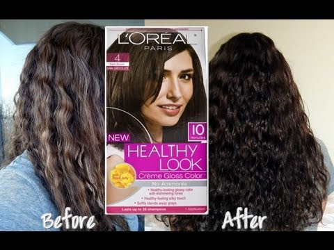 DIY: Dye Your Hair at Home  Loreal Hair Color Review  YouTube