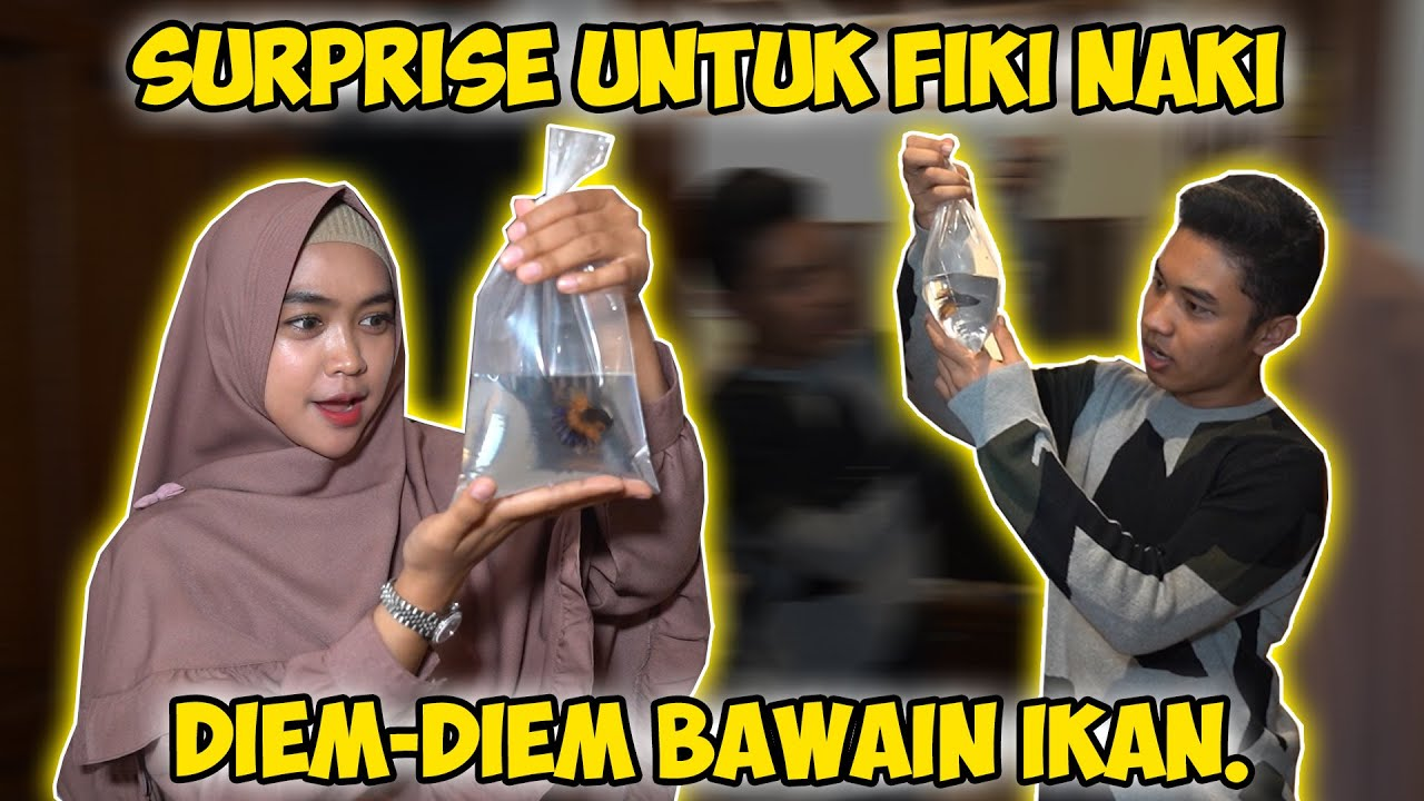 Diem Diem Kasih Surprise Ke Fiki Naki!! Dia Suka Gak Yah?