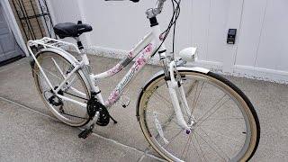 SCHWINN Discover Women lady girl Hybrid Bike 700C Wheels Comfort Commuter