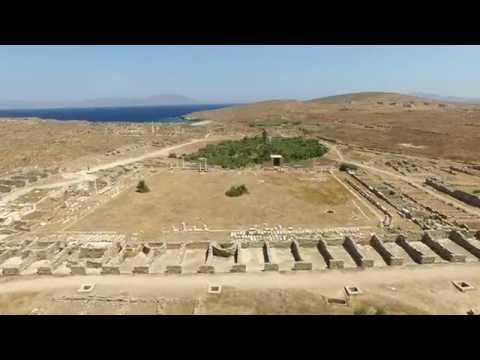 Delos Island - UNESCO World Heritage Centre,   Drone