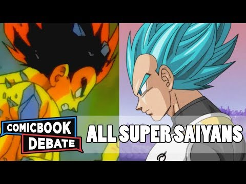 All Super Saiyan Forms in 10 Minutes (2017)