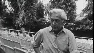 Venise : interview  Bresson