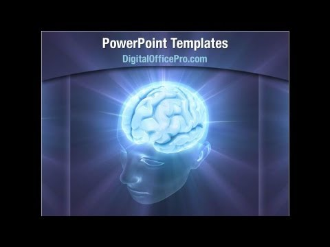 Human Brain Powerpoint Template Backgrounds Digitalofficepro