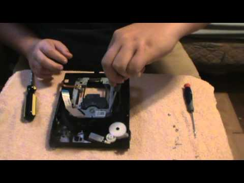 Tutorial: Changing out the Blu-Ray assembly out of your Slim PS3