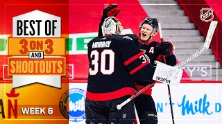 Best 3-on-3 Overtime and Shootout Moments from Week 6 | NHL